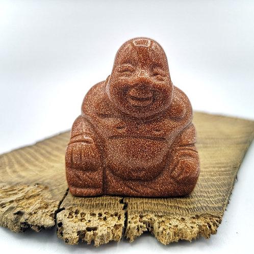 Brown Goldstone Buddha