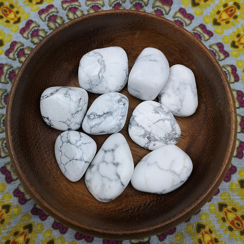 Howlite Tumble Stone