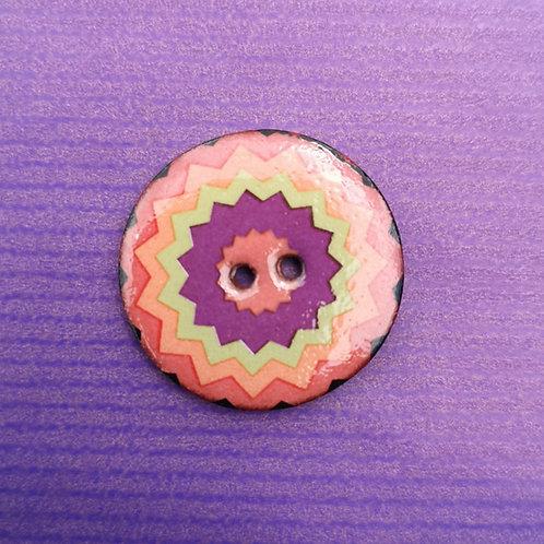 Jazzy Ceramic Button