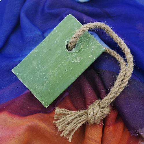 'Rhubarb' Soap on a Rope