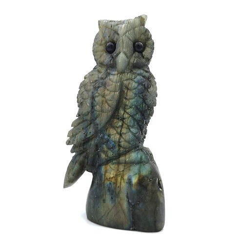Labradorite Owl