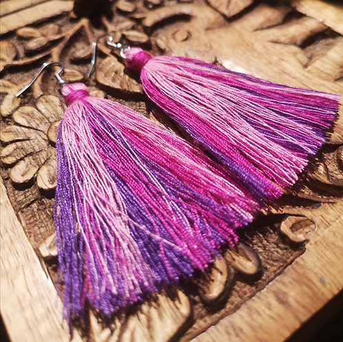 Air Tassel Earrings