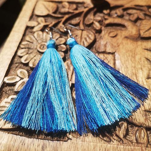 Water Tassel Earrings