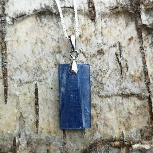 Silver Kyanite Pendant