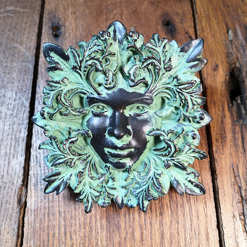 Persephone Green Man Plaque