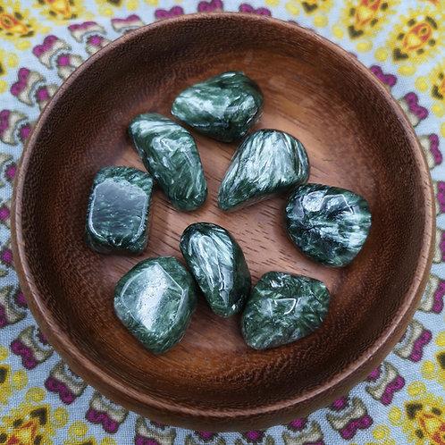 Seraphinite Tumble Stone