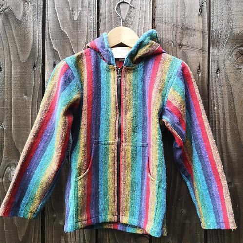 Striped Rainbow Hoody