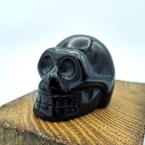 Obsidian Skull