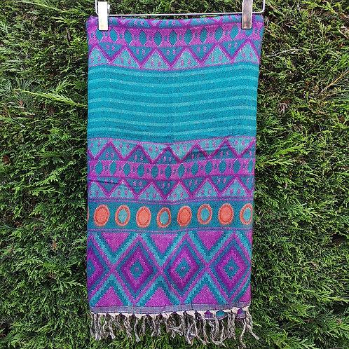 Blue & Purple Aztec