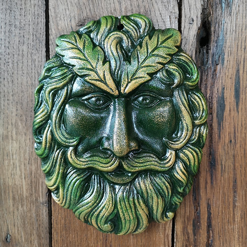Noble Tree Spirit Green Man Plaque