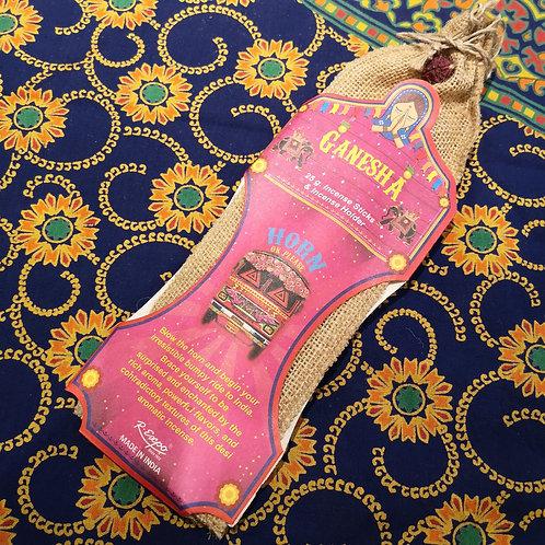 Ganesha Incense Sticks and Holder