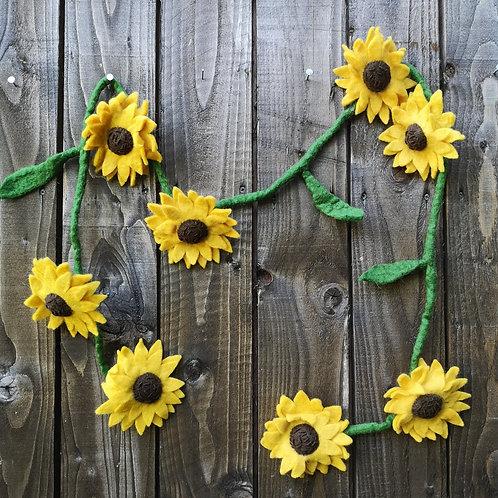 Sunflowers Garland
