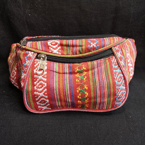 Red Stripy Bum Bag
