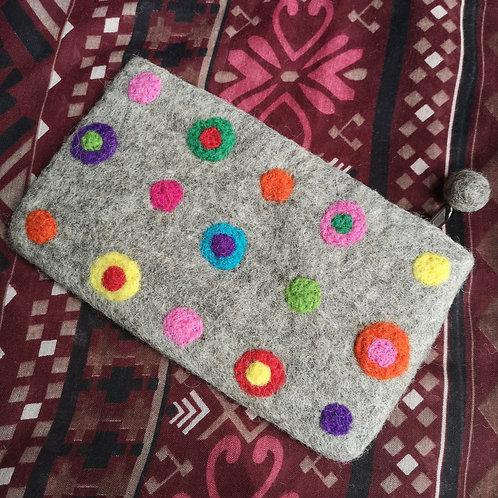 Colourful Circles Purse