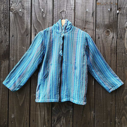 Child's Blue Fleece Lined Hoody