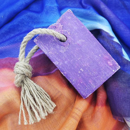 'Pressed Peonies' Soap on a Rope