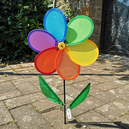 Rainbow Flower Spinner