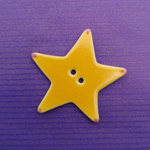 Ceramic Star Button