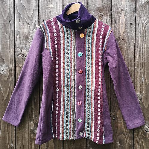 Fleecey Purple Jacket