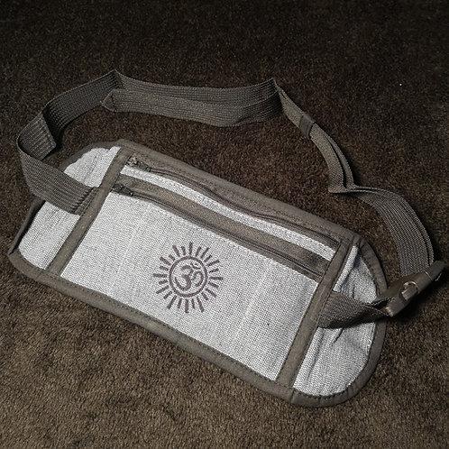 Grey Om Money Belt