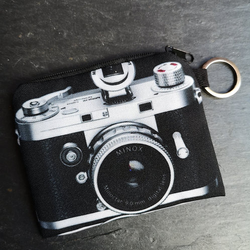 Retro Camera Keyring Purse