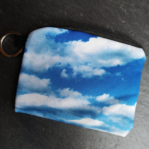 Clouds Keyring Purse