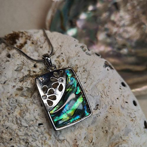 Paua Shell Sparkle Pendant