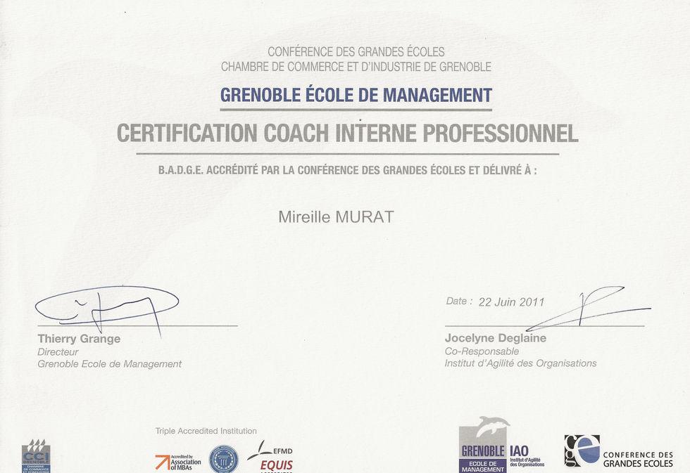 Certification coaching inividuel