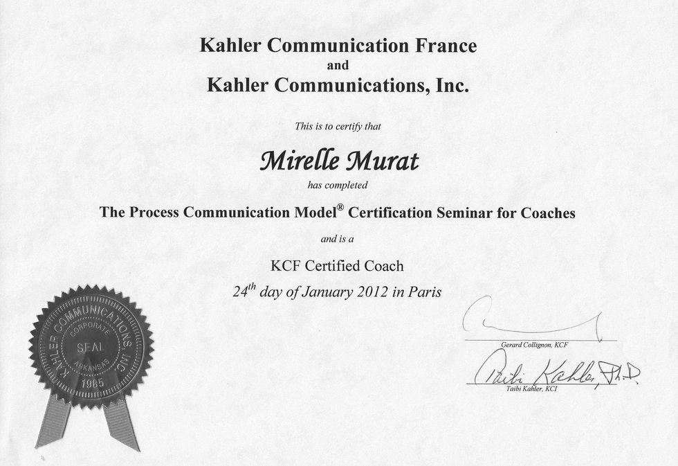 Coaching Process Communication