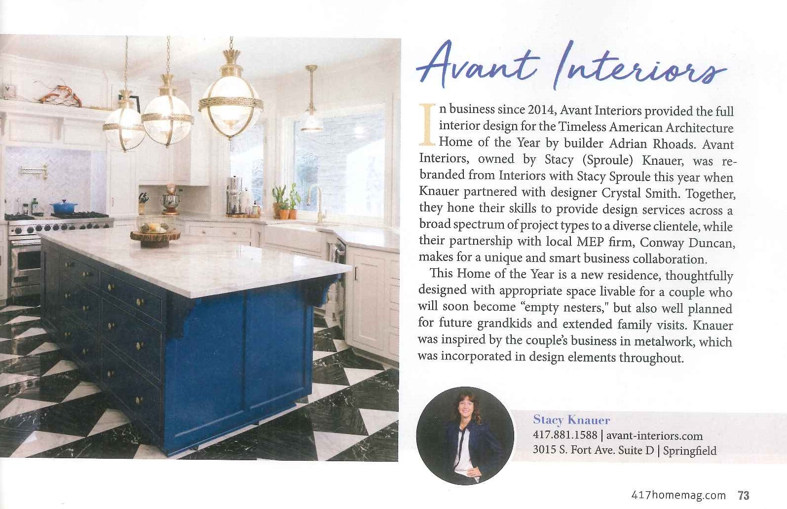 Meet AVANT Interiors