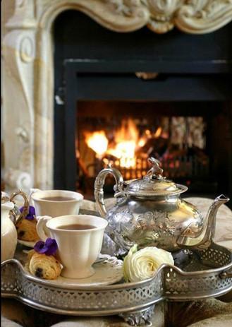 Chá da tarde e manhã