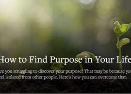 Finding purpose in your life - mindfulness meditation facilitators have found theirs