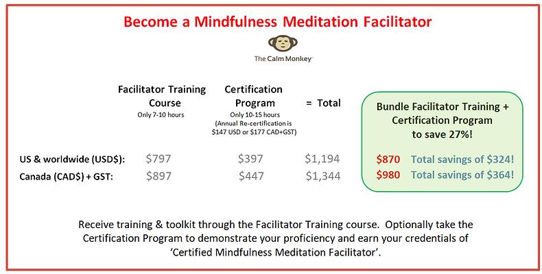 The Calm Monkey | mindfulness facilitator training, certification
