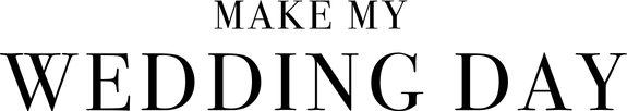 Make My Wedding Day Logo (Type-Black).pn