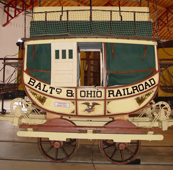 Maryland Coach, Photo courtesy of the B&O Railroad Museum in Baltimore, MD