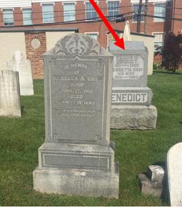 Episcopal Cemetery, Leesburg, VA.  Image taken by Alison Herring