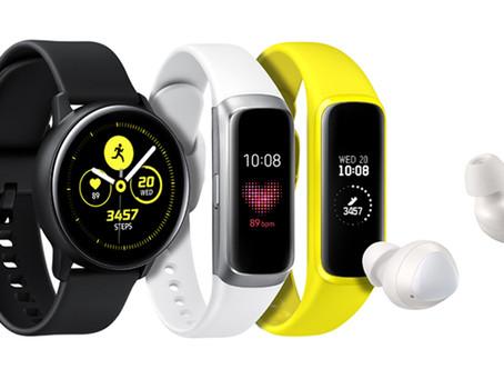Samsung apresenta três novos wearables para uma vida equilibrada e conectada