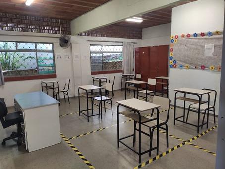 Educação amplia a retomada das aulas presenciais: escolas de Vazante são listadas, confira