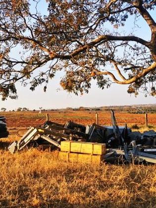Operação 'Carga Pesada': máquinas agrícolas furtadas são recuperadas em Lagoa Grande e Vazante