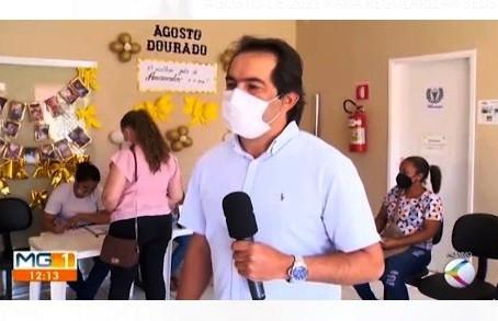 Vazante está com 03 casos ativos de Covid-19 e é destaque regional em vacinação (19/08)
