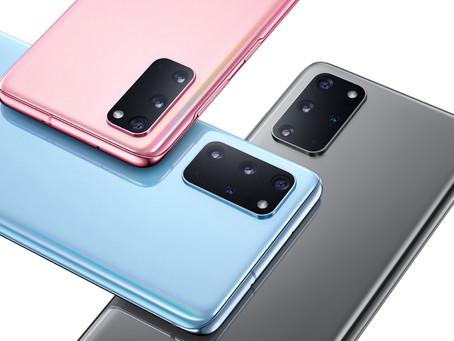 Apresentando o Samsung Galaxy S20: Experimente o mundo de uma outra forma