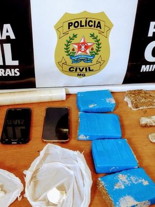 Traficante é preso por venda de drogas do Distrito Federal em Vazante