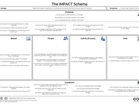 The IMPACT Schema: a customer focused change impact assessment tool