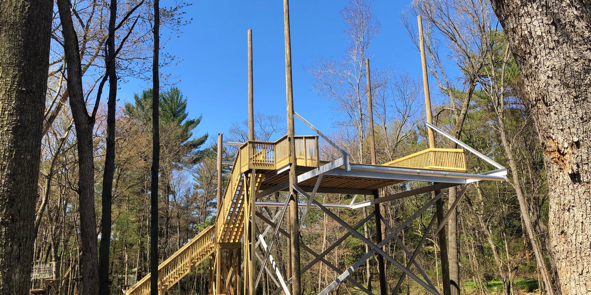 Tower Three - End of Zipline