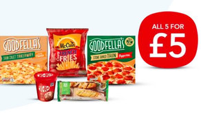 Co-op Frozen Meal Deal for £5 – 17th Feb-9th Mar 2021