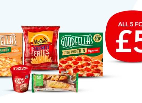 Co-op Frozen Meal Deal for £5 – 27th Jan-16th Feb 2021