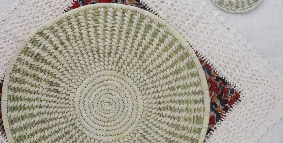 Set of 2 Handmade Sabai Grass Table Mat