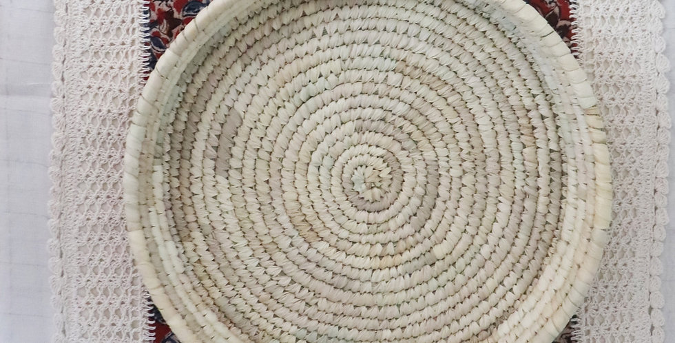 Sustainable Handmade Sabai Grass Box Tray