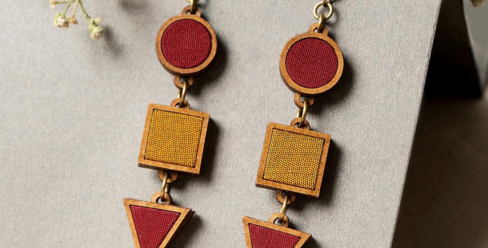 Geometrical Festive earrings