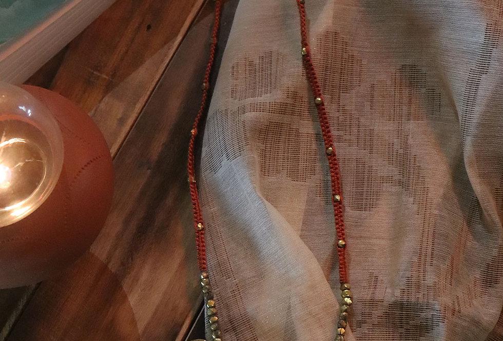 Dokra coin necklace